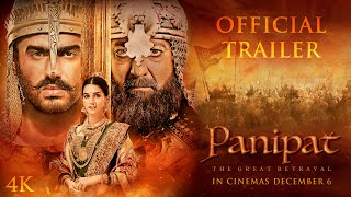 Panipat | Official Trailer |Sanjay Dutt, Arjun Kapoor, Kriti Sanon|Ashutosh Gowariker|In Cinema Now