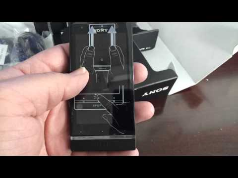 SONY XPERIA U ST25i Unboxing Video - Phone in Stock at www.welectronics.com