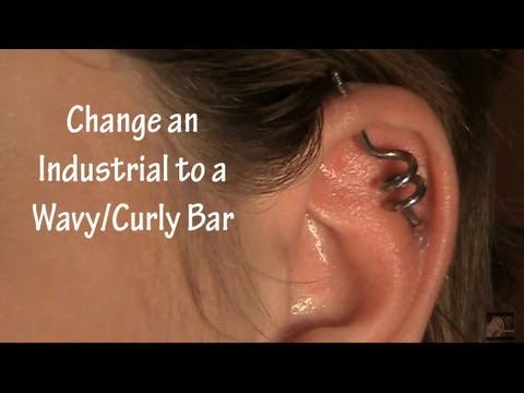 Change an Industrial/Scaffold to a wavy or culry bar!!!
