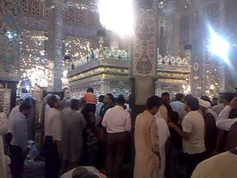 Inside view of Roza Bibi zainab S.A Syria (Shakeel Abbas)Mailsi...