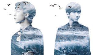 【 PicsArt 】Hướng dẫn lồng ghép ảnh sóng biển | PicsArt Editing ❤️