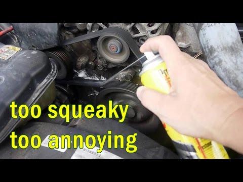 Fix annoying Serpentine Belt Squeak Noise with this