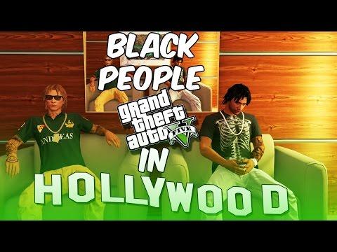 GTA 5 BLACK PEOPLE IN HOLLYWOOD EP. 1 - WTF !!!