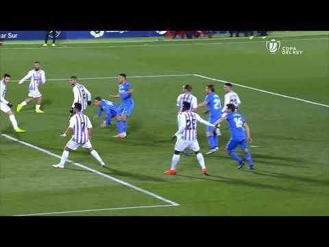 Resumen de Getafe CF vs Real Valladolid (1-0)