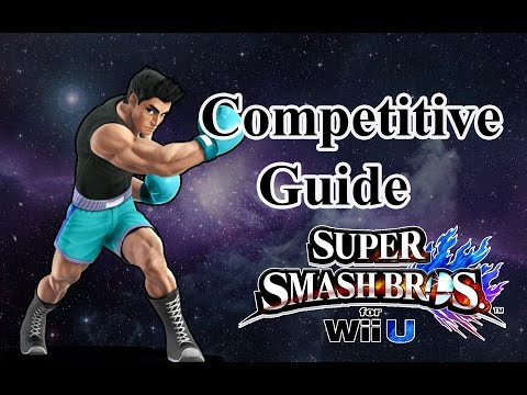 Super Smash Bros. for Wii U - Little Mac Competitive Tutorial (Re-upload)