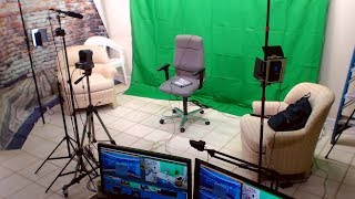 Streaming Idiots Studio Tour from Eastern Shore Broadcasting