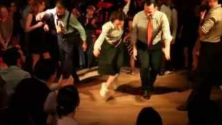 Tap dance competition at the Paris Jazz Roots Festival