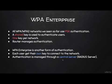 What is WPA/WPA2 Enterprise & How it Works
