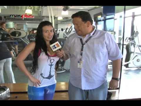Diosa Canales Entrenando a Saul Borges  Tiosau