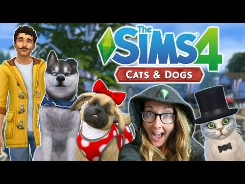 The Sims 4 Cats and Dogs: FIRST LOOK!!! | Create A Pet |