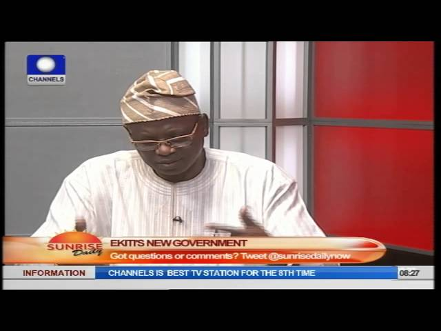 APC Member Says Party Has Reasons To Believe Fayose Did Not Win Ekiti Election PT2