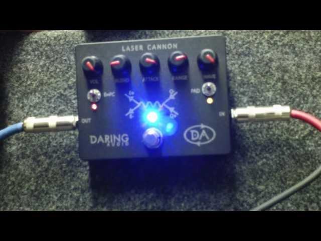 Daring Audio Laser Cannon Knob Demo Closeup