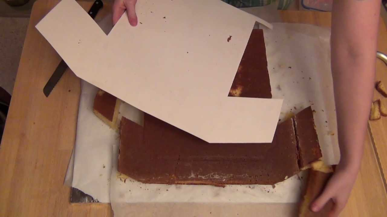 How To Make A T Shirt Shaped Cake Youtube