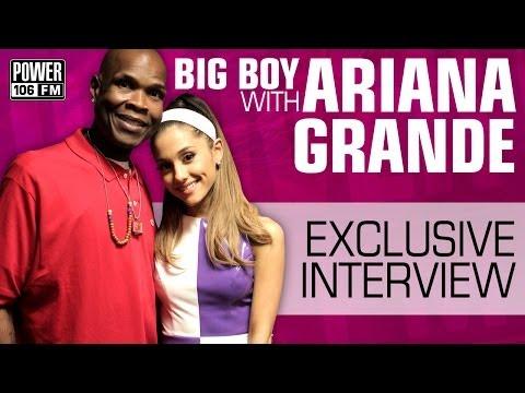 Ariana Grande speaks on Chris Brown & Secret Dancing