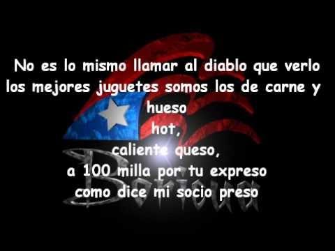 Letra Lyrics @ Daddy Yankee Ft Alexis & Fido - Rescate