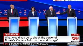 Watch Democratic Debate Highlights In Ohio
