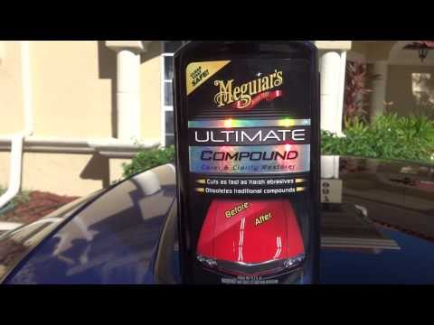 Meguiars Ultimate Compound Review and Test results. Before and after on my 2001 Honda Prelude.
