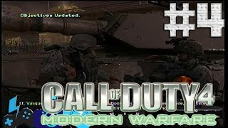 Call of Duty 4 Modern Warfare #4 | Batalla a oscuras | Salvando al granjero