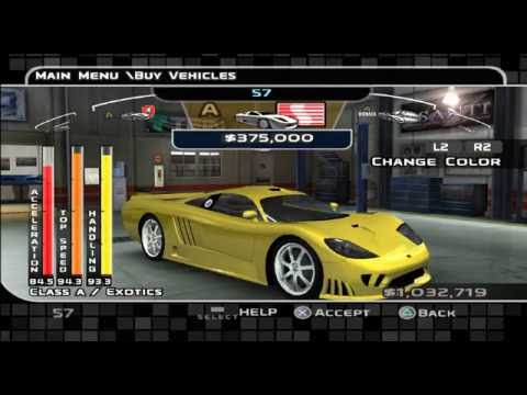EVERY CAR IN THE GAME - Midnight Club 3 Dub Edition Remix