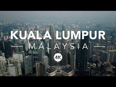 KUALA LUMPUA - 4K DRONE VIDEO OF MALAYSIA 2018