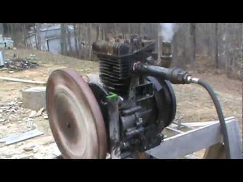 12 horse power briggs and stratton steam engine