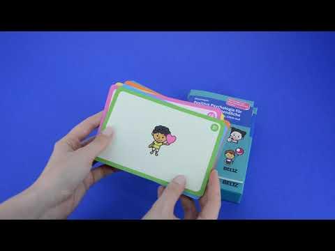 Therapiekarten »Positive Psychologie für Kinder und Jugendliche«