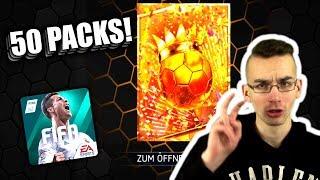 50 PACKS! KARNEVALS PACK EXPERIMENT 😱🔥 FIFA 18 MOBILE