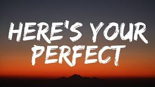 Download lagu Jamie Miller - Here's Your Perfect (Lyrics)