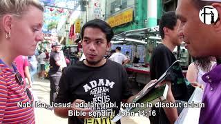 Download Lagu Wanita Katolik Ini Kagum Konsep Kenabian Islam | Street Dawah Gratis STAFABAND