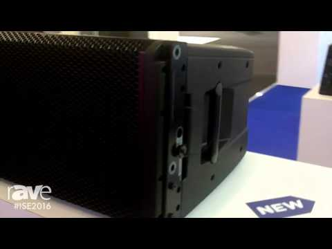 ISE 2016: RCF USA Highlights HDL50-A Full Scale Line Array