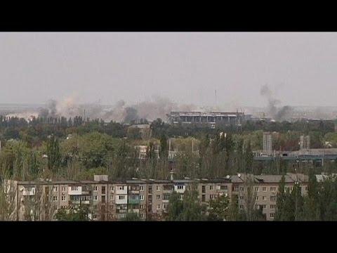 EU monitors claim Ukraine truce is holding despite fresh shelling at Donetsk airport
