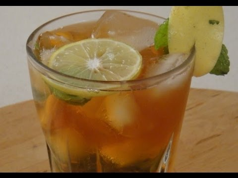 Lemon Mint   Iced Tea   Sanjeev Kapoor Khazana