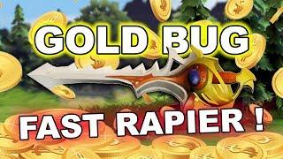 Dota 2 GOLD BUG Abusers - FAST RAPIER!