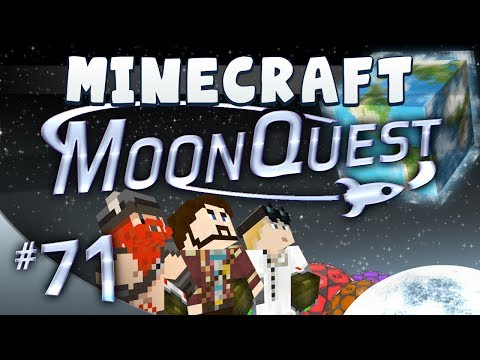 Minecraft MoonQuest 71 Weird Egg Thing In The Sky