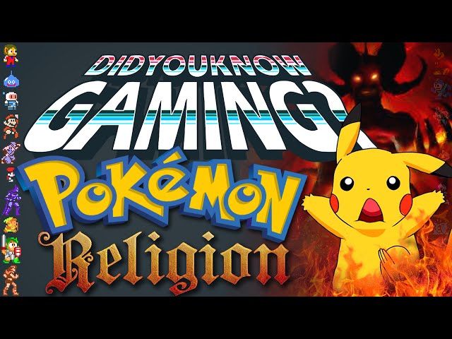 Pokemon & Religion - Did You Know Gaming? Feat. NintendoFanFTW