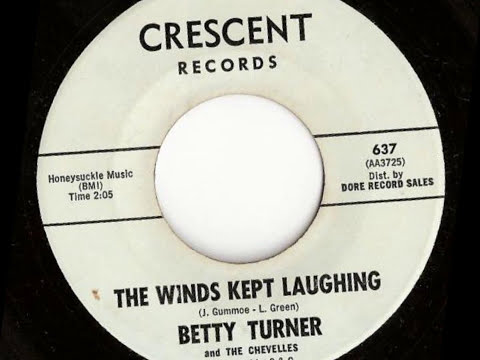Betty Turner - The Winds Kept Laughing (CRESCENT)