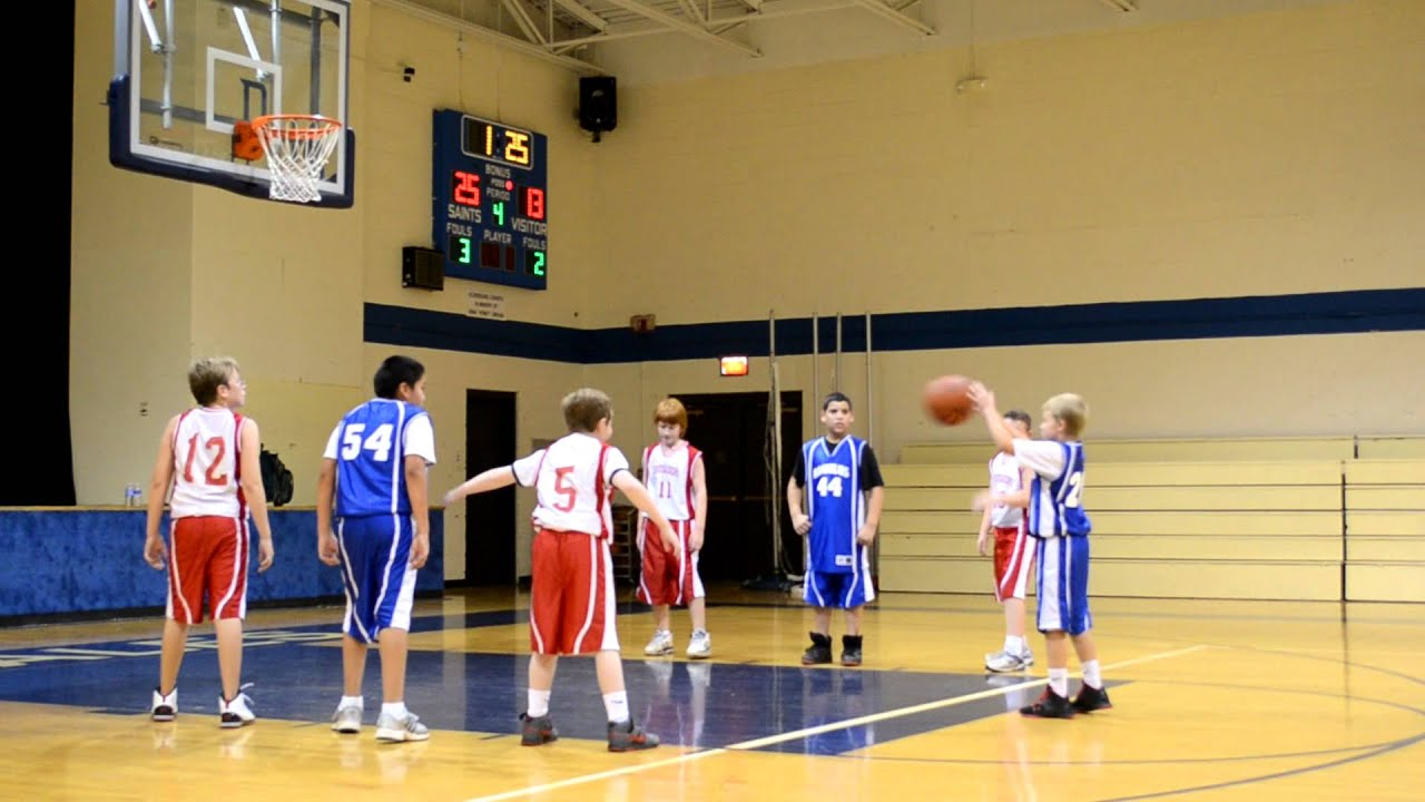 5th And 6th Grade Basketball Plays 5th 6th Grade Boys