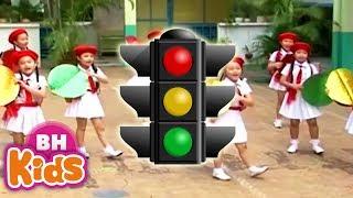 Đèn Đỏ Đèn Xanh ♫ Nhạc Thiếu Nhi Vui Nhộn