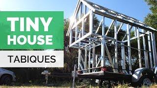TABIQUES METALCON EN TINY HOUSE SOBRE RUEDAS | Chile | Paso Sustentable
