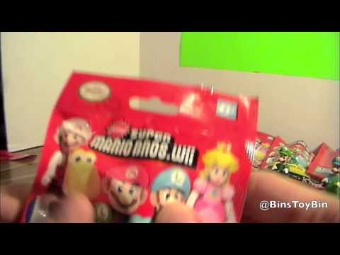 New Super Mario Bros Wii K'nex Blind Bags CODES Revealed!! by Bin's Toy Bin