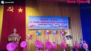 Múa hát Xuân về trên bản Mông_hội thi bé thông minh vui khỏe cấp huyện do trường MG Thanh Bình