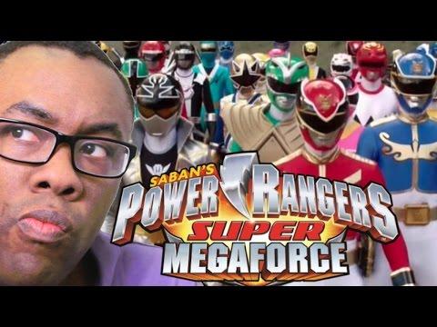 POWER RANGERS Super Megaforce Finale Review : Black Nerd