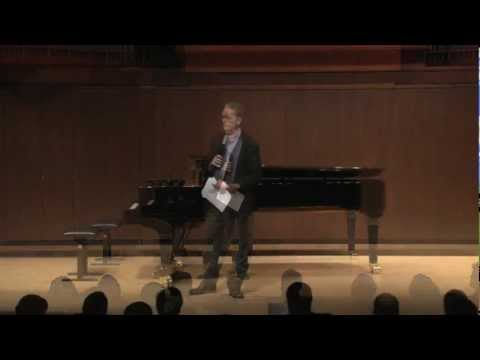 Juilliard Master Class With Joyce DiDonato: Introduced by Brian Zeger