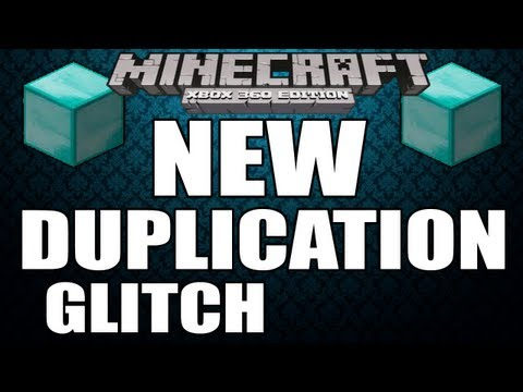 Minecraft (Xbox360) NEW DUPLICATION GLITCH All Items (TU12)