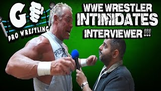 Wrestler Billy Gunn Angry Interview | GO Pro Wrestling