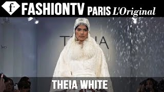 Theia White Collection Bridal Fall 2015 - Runway Show | FashionTV