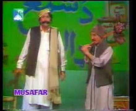 Pashto Mazahia Gupshup Stage Show Clip 13 video