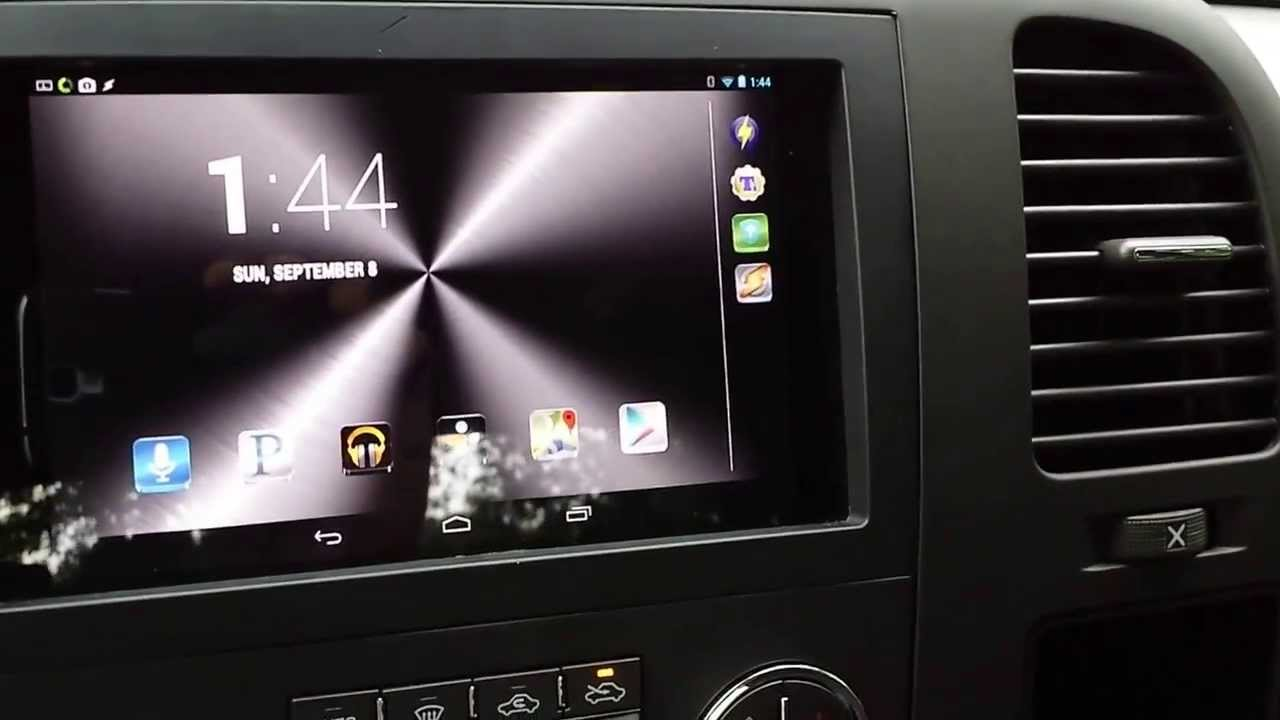 HOW TO: Nexus 7 Dash Mount, Stereo Integration - part 2 - YouTube