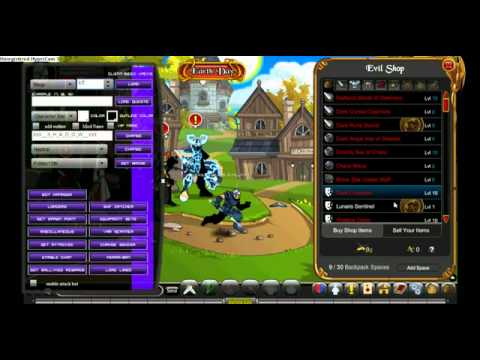 =AQW= Shop Hack With ID List