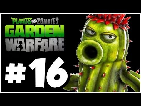 Plants vs. Zombies Garden Warfare Walkthrough PLANTSKATEERS Part 16 Xbox One 1080p HD